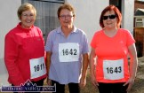 Bridie Fitzgerald, Scartaglin (left) pictured with Mary Carmody, Cordal and Mae Cremin, Headford at the start of the first of the trio of An Riocht AC Couch-to-5K Road Races / Fun Runs in Castleisland on Friday evening. ©Photograph: John Reidy