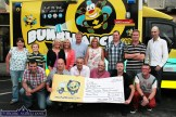 At 'The Longest Day Event 2014' cheque presentation at Tom McCarthy's Bar on Saturday evening were, front from left: Pat O'Connor, Denny Greaney and Gerry Fagan, co-organisers; Tony Heffernan, founder and CEO of The Saoirse Foundation' Tom McCarthy, co-organiser and Patrick Kerins, volunteer; back row: Denise O'Connor, David Enright, Eileen Greaney, Norman Nolan-Moran, Connie Enright, Georgina Fagan, Kevin Moran, Darren Sinnott and Billy Horan. ©Photograph: John Reidy 9-8-2014