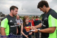 Munster Rugby Players Launch An Riocht Camp 31-7-2014