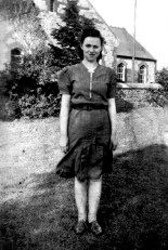 Castleisland woman, Peggy Cronin. The pictured was taken by Church Street based photographer, Danny Sheehy on December 16-1945.