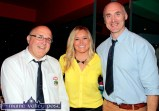 Irish Rugby International and special guest, Sharon Lynch pictured with Castleisland RFC members: Dan Casey (left) and Bill Horgan at the Garvey's SuperValu / Castleisland Rugby Club Bake-Off at the River Island Hotel. ©Photograph: John Reidy