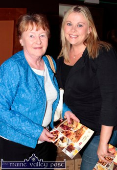 Nor Nolan and her daughter Norma Moran were at the Garvey's SuperValu / Castleisland Rugby Club Bake-Off at the River Island Hotel. ©Photograph: John Reidy