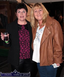 Marguerite Howard (left) and Therese Gallant pictured at the HercOileán After Party at An Riocht AC on Saturday night. ©Photograph: John Reidy