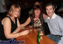 Esther Truslove, Tralee (left) pictured with: Carmel O'Connor and Pat O'Flynn, Tralee at the Thursday night's Social Dancing at the River Island Hotel, Castleisland. ©Photograph: John Reidy