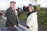 By-pass neighbours, Danny and Peggy Reidy, Knocknagore, pictured at the opening of the N21 Castleisland Bypass on Friday morning. ©Photograph: John Reidy 22-10-2010