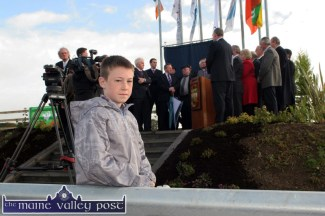About my Father's Business: Kevin Healy Rae, Kilgarvan pictured at the opening of the N21 Castleisland Bypass in October 2010. ©Photograph: John Reidy 22-10-2010