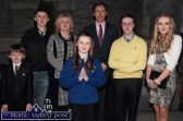 Lisa Flynn pictured after she was confirmed by Bishop Ray Browne in Castleisland on Friday afternoon. Lisa is pictured with her parents: Florence and Máire, sister, Katie and brothers: Pierce, Jack and Paddy. ©Photograph: John Reidy