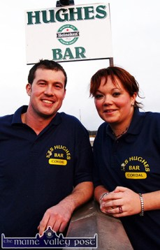 In the beginning: Seán Hughes and Moira O'Connor pictured just after they opened their doors on that Friday evening in March 2005. ©Photograph: John Reidy 11-3-2005