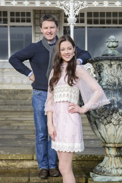 The widely travelled Aishling O'Connell pictured here with another regular TV face, John Brennan of Kenmare.