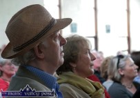 A face in the crowd: Actor, Tom Hickey pictured at St. Michael's College for the launch of Maurice McMahon's book 'Mr. Mac' during Saturday morning's Writers' Week programme of events. ©Photograph: John Reidy 5-6-2010