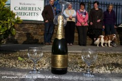 Celebration time at Cahereen Heights as the six-month redevelopment work comes to an end in May. ©Photograph: John Reidy 14-6-2015