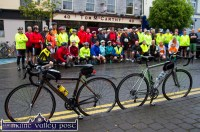 Bikes in Focus: A last second, Longest Day Family Photograph just before the start of the second annual Longest Day Cycle/Climb/Cycle Challenge in Castleisland on Saturday morning. ©Photograph: John Reidy