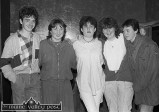 Do you know who these young revelers from 30 years ago are and can you put names on them. They were helping to celebrated the All-Ireland Club Football Championship win by Desmonds at Woodies Hotel. ©Photograph: John Reidy 29-3-1985