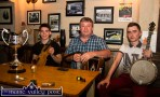 Young musician award winner Cian O'Sullivan, Fossa, Killarney (left) pictured after he received the Mike Kenny Memorial Perpetual Cup at Browne's Bar in Castleisland with: Pádraig Buckley, Killarney School of Music and Seán Kelliher, Killarney. ©Photograph: John Reidy