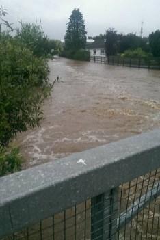 A view from Church Street Bridge towards Barrack Street. Photograph: Patsy O'Donoghue