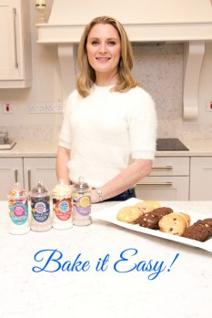Maria Brosnan with a selection of her Bake it Easy! products which can be found in the leading supermarkets throughout Kerry and West Limerick at present.