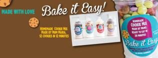 The Facebook header for Bake it Easy!