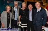 Enjoying the Bank of Ireland Enterprise Town Expo last night were: Maria Garvey, Mike McGillycuddy, Denise Mullane, Donal O'Connor and David Hurley. ©Photograph: John Reidy