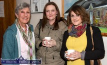 Aileen Roantree (left) with Aoife Ní Chaoimh and Nell Ní Chrónín at the first night of the Handed Down Series II at Scartaglin Heritage Centre. ©Photograph: John Reidy 10-10-2015