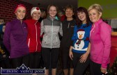Shona Heaslip, (left) pictured with: Catherine O'Sullivan, Fiona Kavanagh, Niamh O'Sullivan, Kate McSweeney, manager An Riocht AC and Liz Heaslip at the annual GOAL Mile at An Riocht AC on Christmas Morning. ©Photograph: John Reidy