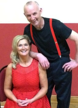 Joan McElligott and Pa White who have been kindly sponsored by Sean Og's Bar, Tralee.