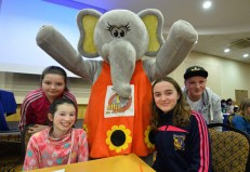 At the Tralee Credit Union Annual Schools Quiz 2016 in the Brandon Hotel Tralee over the weekend were: Ian Begley, Ellie Lenihan , Ella Scanlon and Kaytelyn O'Connell. Photo By : Domnick Walsh © Eye Focus LTD ©