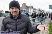 For the year that's in it: Tom Brennan brought out a War of Independence medal belonging to his father during Thursday's St. Patrick's Day Parade. ©Photograph: John Reidy