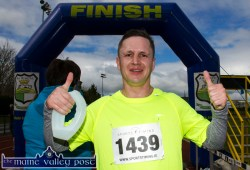 A naturally fit Tom Broderick, Castleisland after finishing the 5K section of the annual An Riocht AC / Lee Strand Kingdom Come 10 Miler and 5K Road Race in Castleisland this morning. ©Photograph: John Reidy
