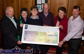 River Island Hotel Card Players Charity Cheques 17-4-2016