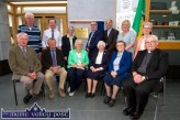 Local and visiting guests pictured at the dedication of Castleisland Library to local Presentation Convent Foundress Mother Joseph Harnett (1798 - 1888) Seated: Timothy Murphy, Ned O'Callaghan, Sr. Pauline Casey, Provincial Team; Sr. Maureen Kane, Sr.Theresa McAuliffe and Monsignor Dan O'Riordan. Back row: Joe Martin, Denis Divane, Sr. Mary Buckley, Mayor Bobby O'Connell, Michael and Ann Harnett and Sr. Anne O'Callaghan. ©Photograph: John Reidy
