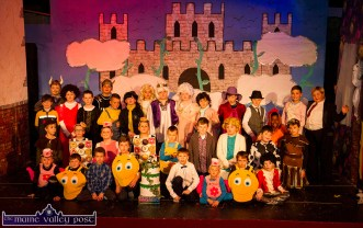 Castleisland Boys' National School Panto Rehearsals 09/12/2016