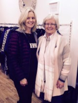 Susan Walsh and her mom, Cáit Browne at the opening of the Ivy Lane Boutique. Photograph Courtesy of Hannons of Castleisland.