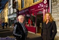 Sisters, Jill Hannon (left) and Lorna Keane pictured outside the recently opened Ivy Lane boutique and gift shop at 32 Lower Main Street, Castleisland. ©Photograph: John Reidy