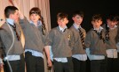 Members of the cast from St. Patrick's performing at the show.