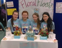 The Floral Floats team from left: Aoife Walsh, Aoife Kerins, Leah Cahill and Jane Lawlor.