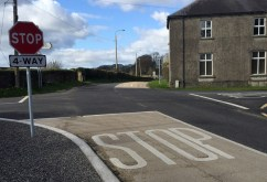 The 4-Way system at Milemill in Kildare which Minister Brendan Griffin is proposing for Ballyfinnane Crossroads.