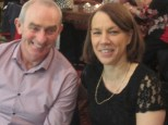 John and Nicola Stack at the Abbeyfeale Community Alert Seniors Lunch at Fr. Casey's GAA Clubhouse.
