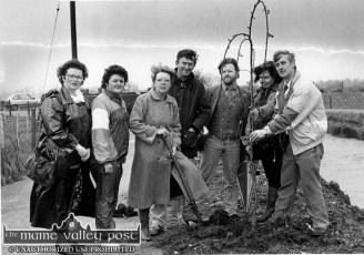 Biddy White-Lennon River Walk Planting 11-3-1992