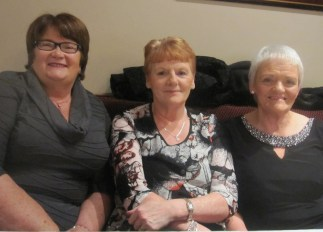 Mary Barry, Marie Sheehy and Margaret Harnett at the Abbeyfeale Community Alert Seniors Lunch at Fr. Casey's GAA Clubhouse.