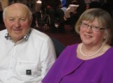 Maurice and Margaret Harnett at the Abbeyfeale Community Alert Seniors Lunch at Fr. Casey's GAA Clubhouse.