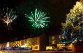 The grand finale of last year's Castleisland Chamber Alliance/AIB Christmas Street Party. ©Photograph: John Reidy
