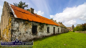 The remains of the river boatmen's dwellings on Scattery Island. ©Photograph: John Reidy