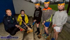 Co-organiser, Anne Walsh pictured with camogie enthusiasts: Amie Pidgeon, Currow; Sarah Mason, Ballymacelligott; Fiona Waters, Cologne, Germany and Clodagh Delaney, Castleisland. ©Photograph: John Reidy