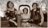 Ballymacelligott Vintage Rally and Family Fun Day Committee members: Mary Lynch (left) with Joan Fleming and Joan Glover look all set for their big day on September 15th. ©Photograph: John Reidy