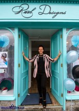 Come on in: Reel Designs founder/proprietor, Reelika Ollo at the launch of her business at 34 Lower Main Street, Castleisland. ©Photograph: John Reidy