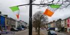 Main Street Castleisland on the Covid 19 Lockdown St. Patrick's Day 17-3-2020. ©Photograph: John Reidy