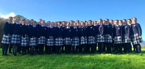 The Presentation Castleisland Choir at the 2019 launch of their CD.