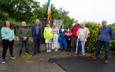 At the Castleisland Sinn Féin Cumann 1921 Commemoration on Saturday evening were: Kate McSweeney, Angelo Fusco, Pa Daly, TD, guest speaker; Aaron Shanahan-O'Mahony Cate SHanahan, Mary and Noreen Prendiville, Dave Geaney, Pat Hunt and Denny McSweeney. ©Photograph: John Reidy