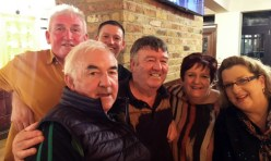 Taking in the London based Danny Broderick's big birthday party in London were: Cllr. Charlie Farrelly, Dan Pembroke, Castleisland and London with Danny, J.J. and Joan Broderick and Martina O'Mahony, Castleisland