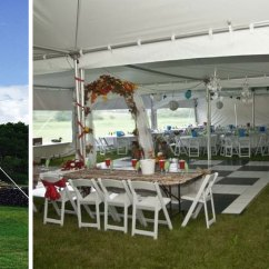 Chair Cover Rentals Peterborough Steel Folding Chairs Tent Table And Belleville Quinte Kingston Area Main Event